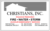 Christians Inc. Insurance Restoration image.